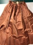 Light Burgundy Full Silk Skirt