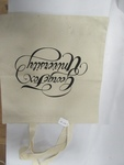 GFU Cream Colored Tote by George Fox University Archives