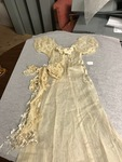1938 May Day Queen Gown
