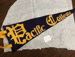 Handmade Pacific College Pennant