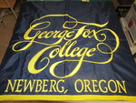 George Fox College Banner by George Fox University Archives