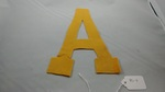 "Felt Letter ""A"" by George Fox University Archives"