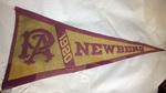 Pacific Academy Felt Pennant by George Fox University Archives