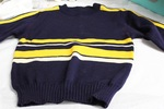 Cheerleader Sweater by George Fox University Archives
