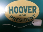 Hoover Sign by George Fox University Archives