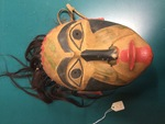 Wooden Mask by George Fox University Archives