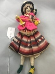 Aymara Woman Doll by George Fox University Archives