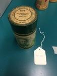 Edison cylinder record (amberol), 4-minute, empty box