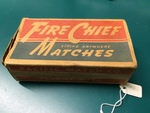 Matchbox (empty) by George Fox University Archives