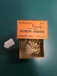 Screw Hooks by George Fox University Archives