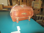 Small Leather Brown Bag by George Fox University Archives