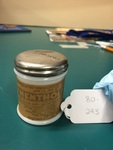 Mentholatum Jar by George Fox University Archives