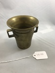 Brass Mortar by George Fox University Archives