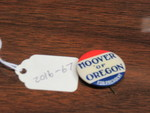 Hoover of Oregon Lapel Pin by George Fox University Archives