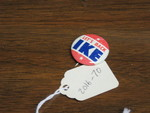 Eisenhower Campaign Lapel Pin by George Fox University Archives