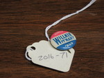 Willkie Campaign Lapel Pin by George Fox University Archives