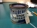 Can of Shoe Grease by George Fox University Archives