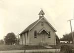 Newberg Catholic Church by George Fox University Archives
