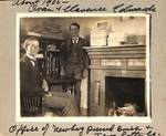 Oran and Clarence Edwards by George Fox University Archives