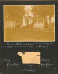 Newberg Residence Christmas Card by George Fox University Archives