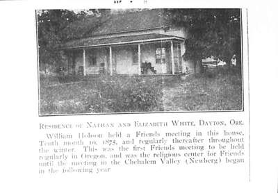 Nathan and Elizabeth White Residence