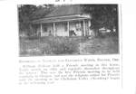 Nathan and Elizabeth White Residence by George Fox University Archives