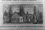 First Newberg Friends Church by George Fox University Archives