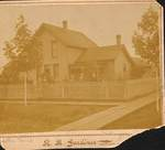 Unknown residence in Newberg, Oregon by George Fox University Archives