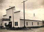 Newberg Auto Company Garage by George Fox University Archives