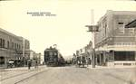 Business Section of Newberg, Oregon by George Fox University Archives