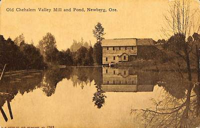 Old Chehalem Valley Mill and Pond