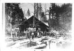 First Sawmill by George Fox University Archives