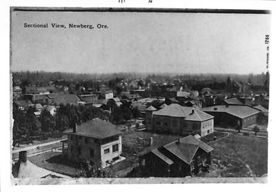 Sectional View of Newberg, Oregon