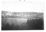 Panorama of Newberg by George Fox University Archives