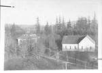 Northeast from the College Building. by George Fox University Archives