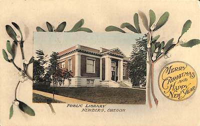 Carnegie Library in Newberg
