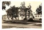 Carnegie Library in Newberg by George Fox University Archives