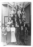 Central School and Students by George Fox University Archives