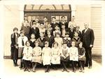 Newberg Central School Students by George Fox University Archives