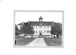 Old Grade School on the site of Central School by George Fox University Archives