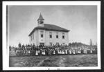 Central School Newberg by George Fox University Archives