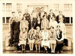 Central School Students by George Fox University Archives