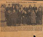 Early Pupil of Old Newberg Schools by George Fox University Archives