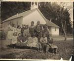 Third and Fourth Grade at Chehalem Center School by George Fox University Archives