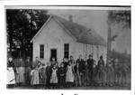 North Main Street Newberg's First School by George Fox University Archives