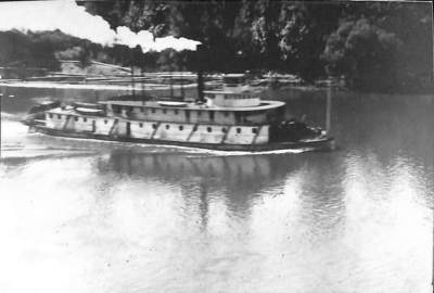 Boat on the Willamette