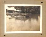 Steamboat on the Willamette by George Fox University Archives