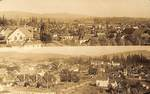 Birds Eye View on Newberg by George Fox University Archives