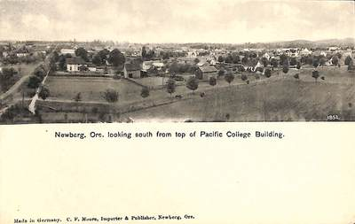 South from the Pacific College Building