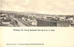 Southeast from Chehalem Valley Mills by George Fox University Archives